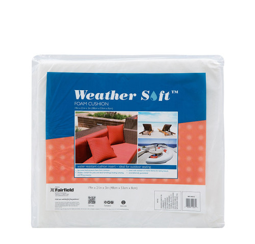 Weather Soft™ Foam Cushion 19″ x 21″ x 3″ thick