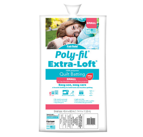 Poly-Fil Extra-Loft® Batting 45″ x 60″