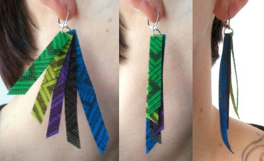 DIY Oly*Fun Fringe Earrings