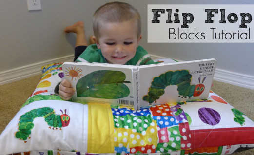 Flip Flop Quilt Block Tutorial