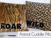 Animal Cuddle Pillows