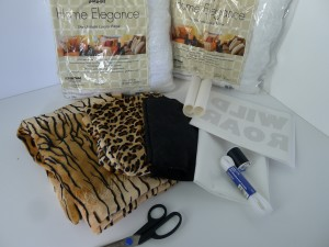 Animal Print Pillows Supplies