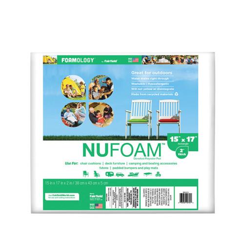 NuFoam™ Pad – 15″ x 17″ x 2″ thick