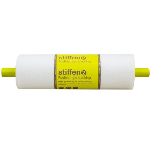 Stiffen Double Sided Fusible Interfacing 20″ Wide X 10 Yard Roll