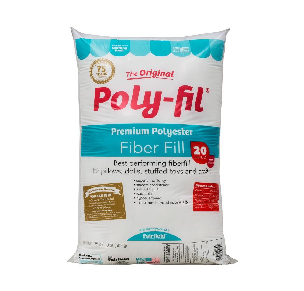 Poly-Fil® Premium Fiber Fill 20 ounce Bag