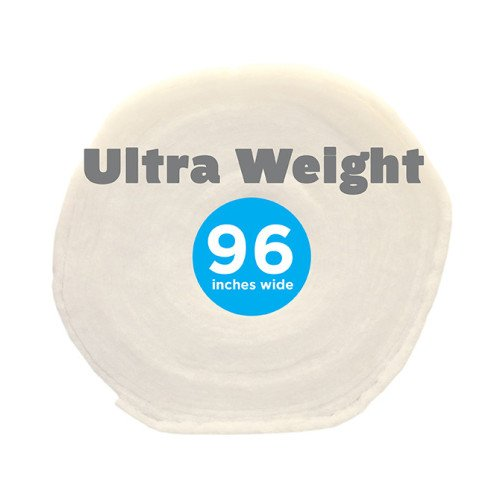 Poly-Fil® Ultra-Weight Batting 96″ wide x 9 yard Roll
