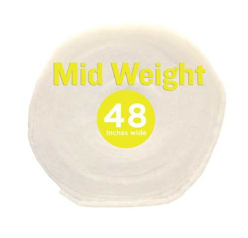 Poly-Fil® Mid-Weight Batting 48″ wide x 30 yard Roll