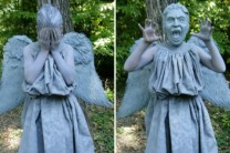 DIY Weeping Angel Costume Part 1