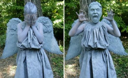 DIY Weeping Angel Costume Part 1