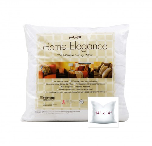 Home Elegance® Pillow 14″ x 14″