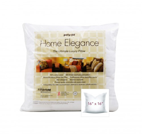 Home Elegance® Pillow 16″ x 16″