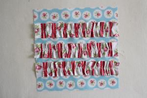 florals ruffle block