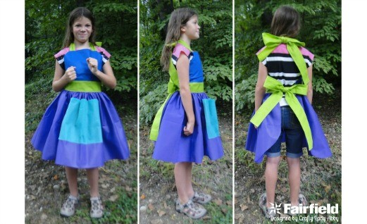 Colorful Apron with Oly*Fun