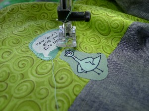 032 Pigeon Driving Quilt