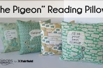 """The Pigeon"" Reading Pillows"