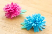 Easy Fabric Flowers