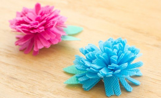 Easy Fabric Flowers with Oly-Fun™
