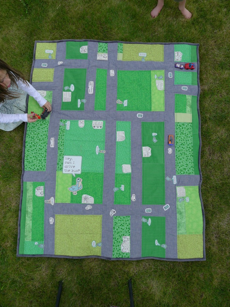 Pigeon Driving Quilt 073