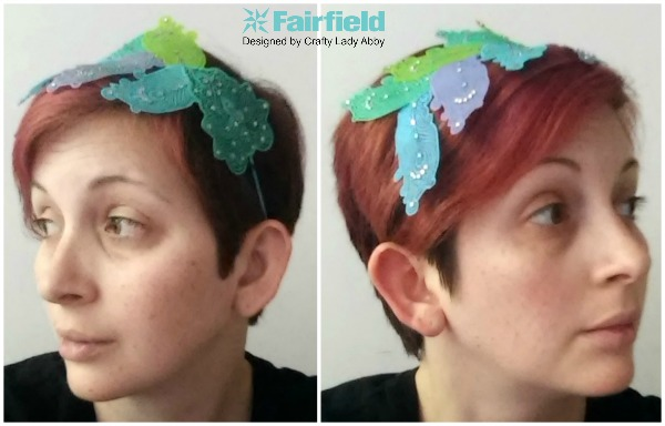 DIY Printed OlyFun Feather Headband 9
