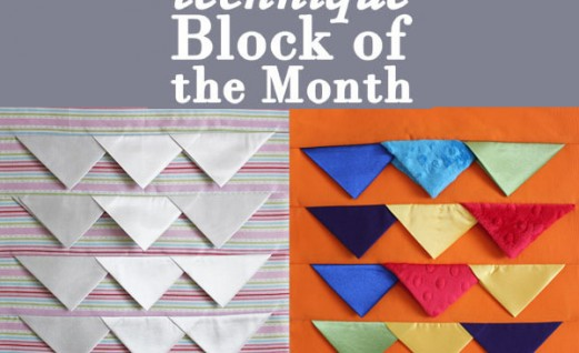2015 Block of the Month - Month 3 prairie points