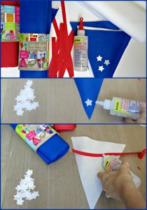 patriotic bunting tutorial