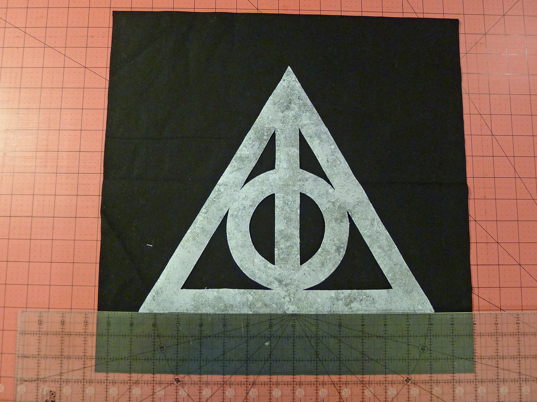 Harry Potter Deathly Hallows Pillow Tutorial Fairfield World Blog