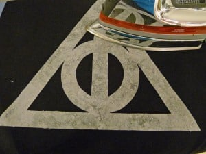 022 Harry Potter Deathly Hallows Pillow