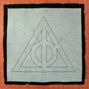 045 Harry Potter Deathly Hallows Pillow