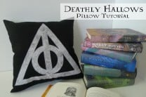 Harry Potter Deathly Hallows Pillow