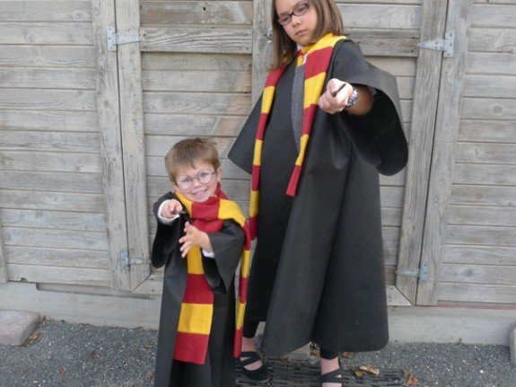 Easy Oly*Fun Harry Potter Costume w/ No-Sew Option - Fairfield ...