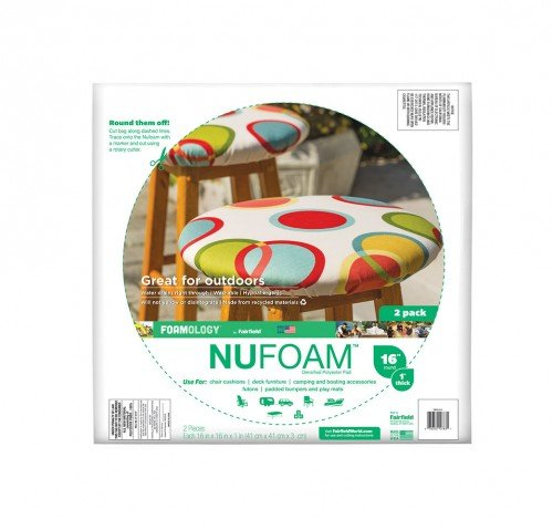 NuFoam™ Pad 16″ x 16″ x 1″ thick – 2pc