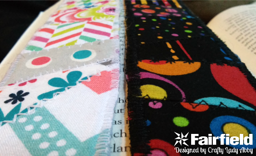 DIY Quilted Fabric Bookmarks