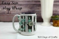 Easy Sew DIY Mug wrap