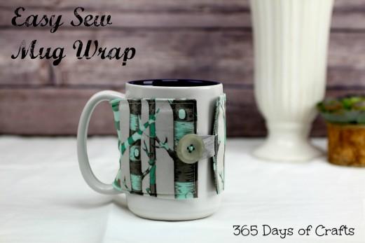 Easy Sew Mug Wrap