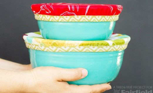 Easy Fabric Bowl Covers