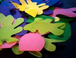 OlyFun Paint Splatter Play Mat 1