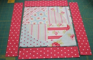 add borders to quilt block