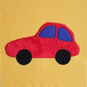 car applique block