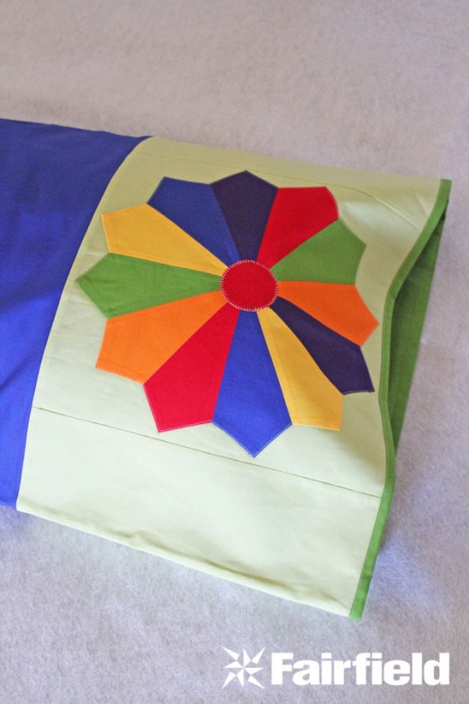 Quilt Block Pillowcase