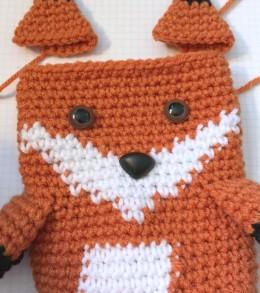 fox ears and face