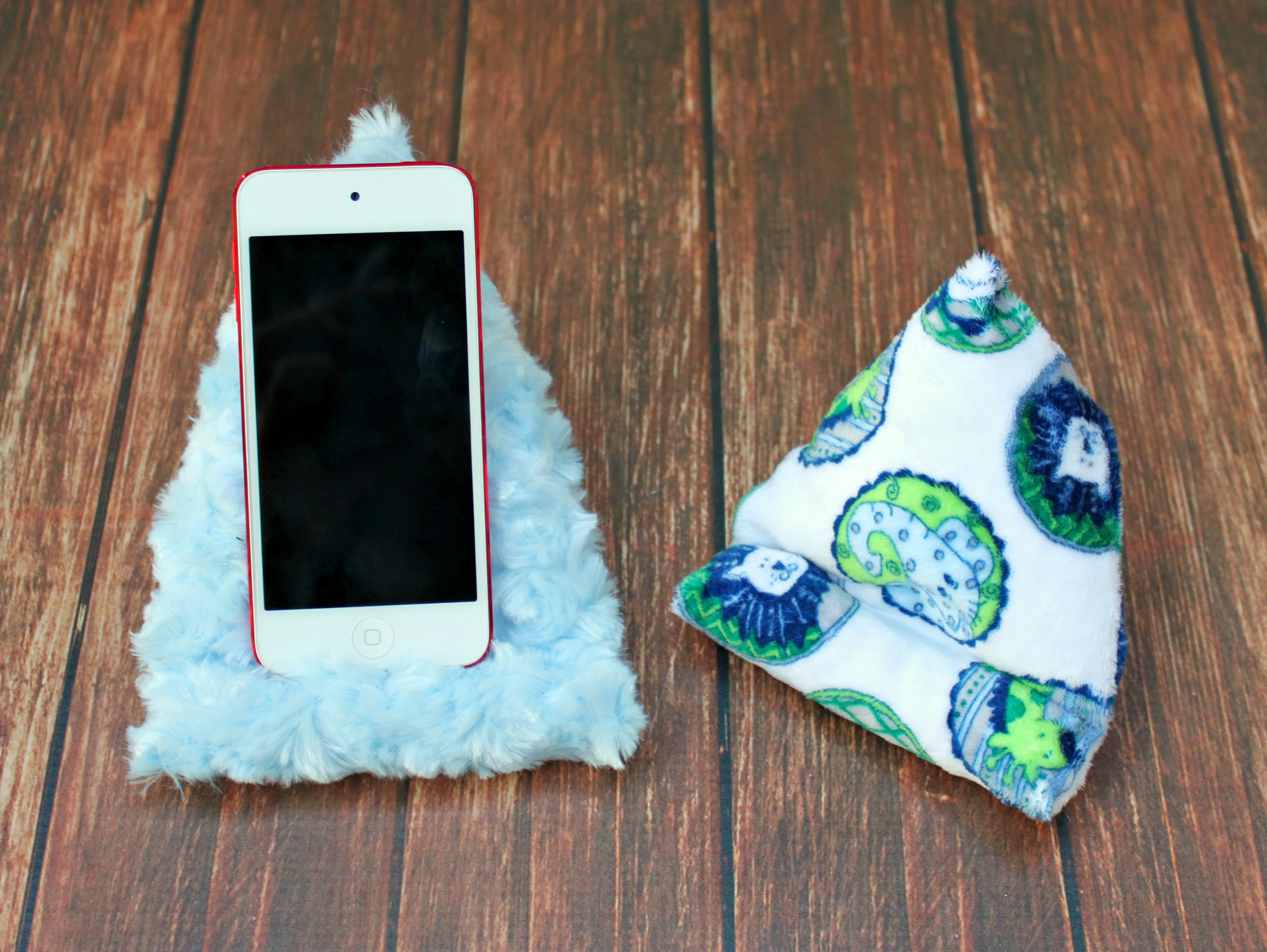 Bean Bag Ipod Iphone Stand Fairfield World Craft Projects