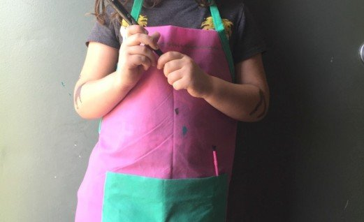 Kids Art Apron with Oly-Fun
