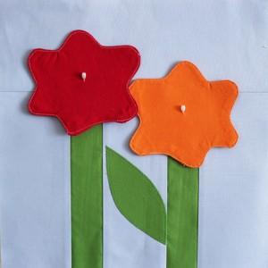 make a flower block