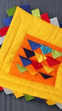 Quilt Block Baby Blankie