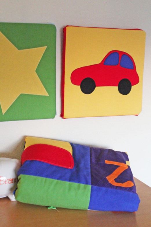 Quilt Block Room Decor