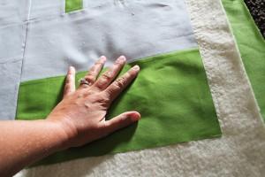 secure quilt top