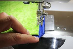 stitch to corner