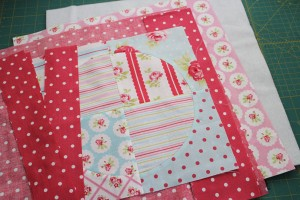 supplies for quilt block tote
