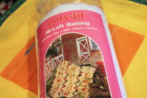 use polyfil for batting