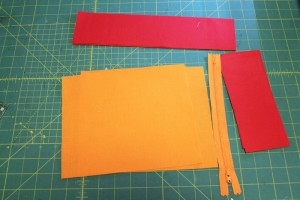 zipper pocket block supplies
